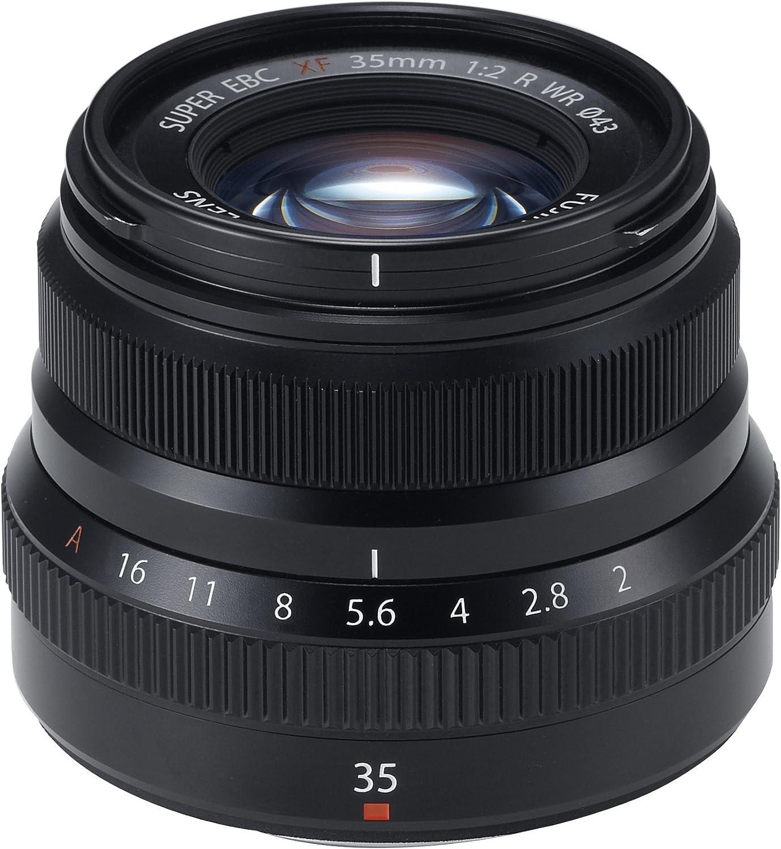 Fujifilm Xf35mmf2 R Wr Fujinon Objektiv Schwarz Kamera