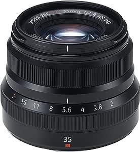 Fujifilm F XF35MMF2 R WR, Objetivo 35mm, Color Negro: Amazon.es ...