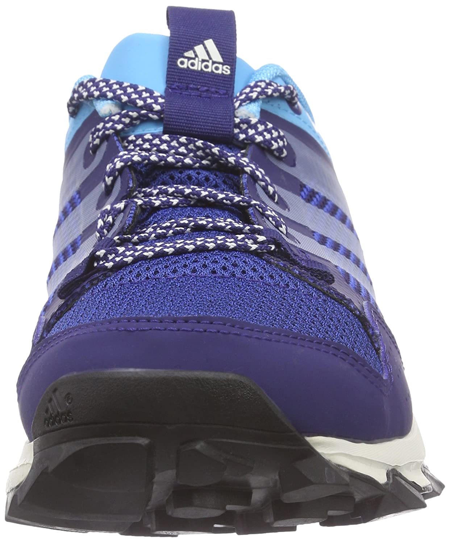 adidas Kanadia 7 Trail Damen Traillaufschuhe  Blau (Midnight Indigo F15/Chalk White/Bright Cyan)