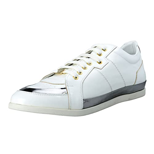 3b08aa87e1627 Versace Collection Men's Leather Fashion Sneakers Shoes US 11 IT 44 ...