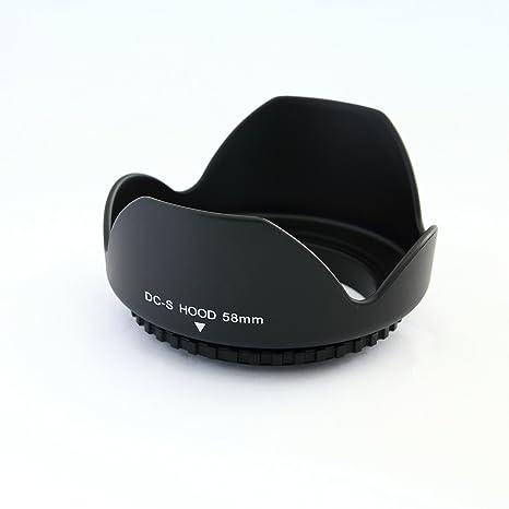 Parasol pétalos Rosca de 58mm para Pentax Nikon Canon Sony Olympus ...