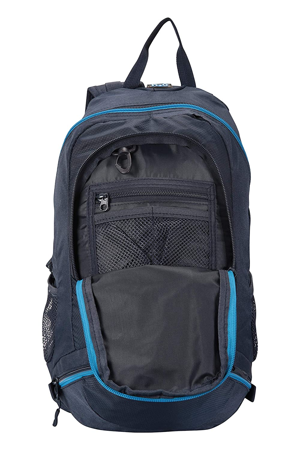 01601d4fdc Mountain Warehouse Endeavour 12L Backpack - Durable Summer Rucksack Navy