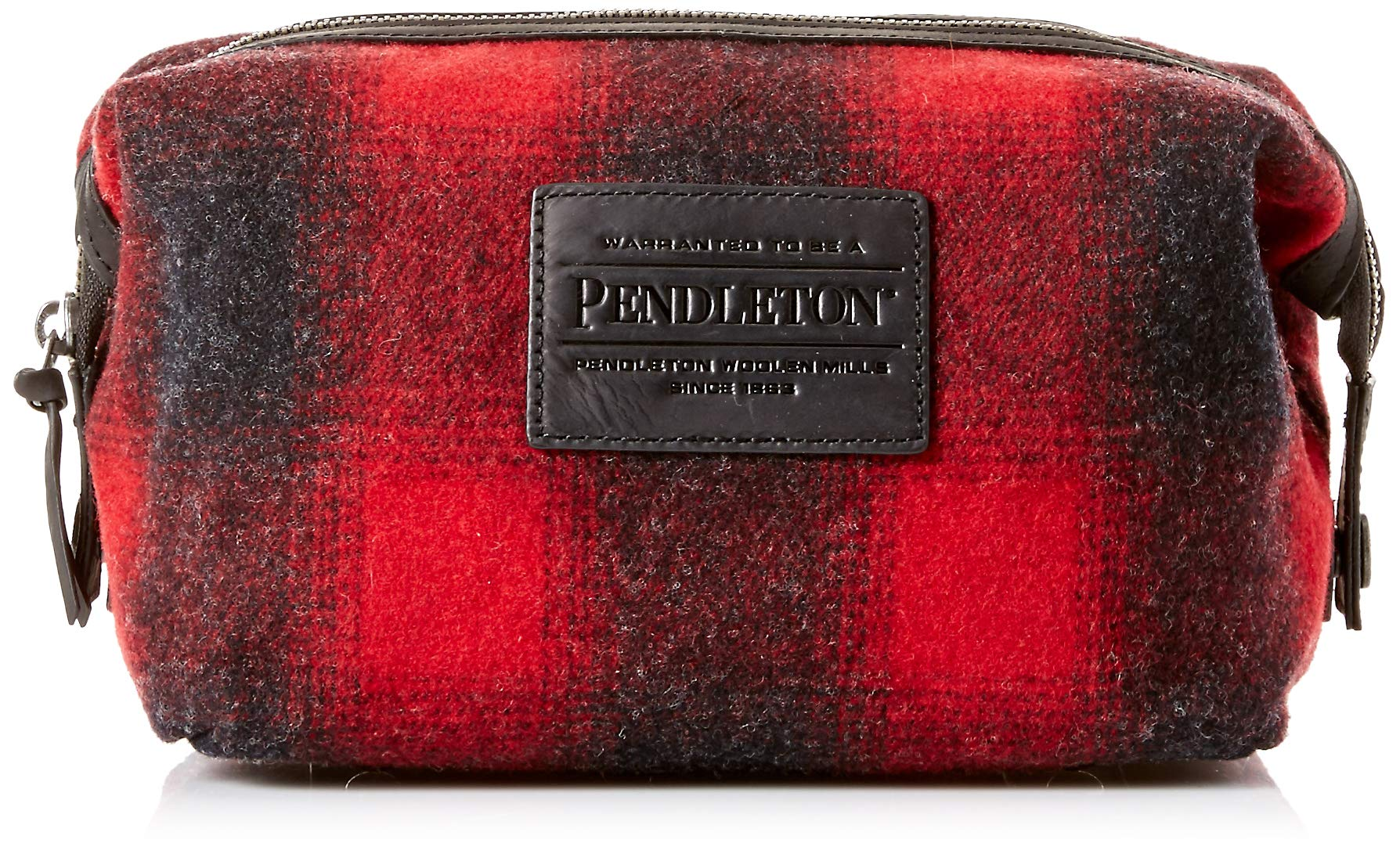 Pendleton Men's Essentials Pouch Bag, Buffalo Check Ombre, One Size