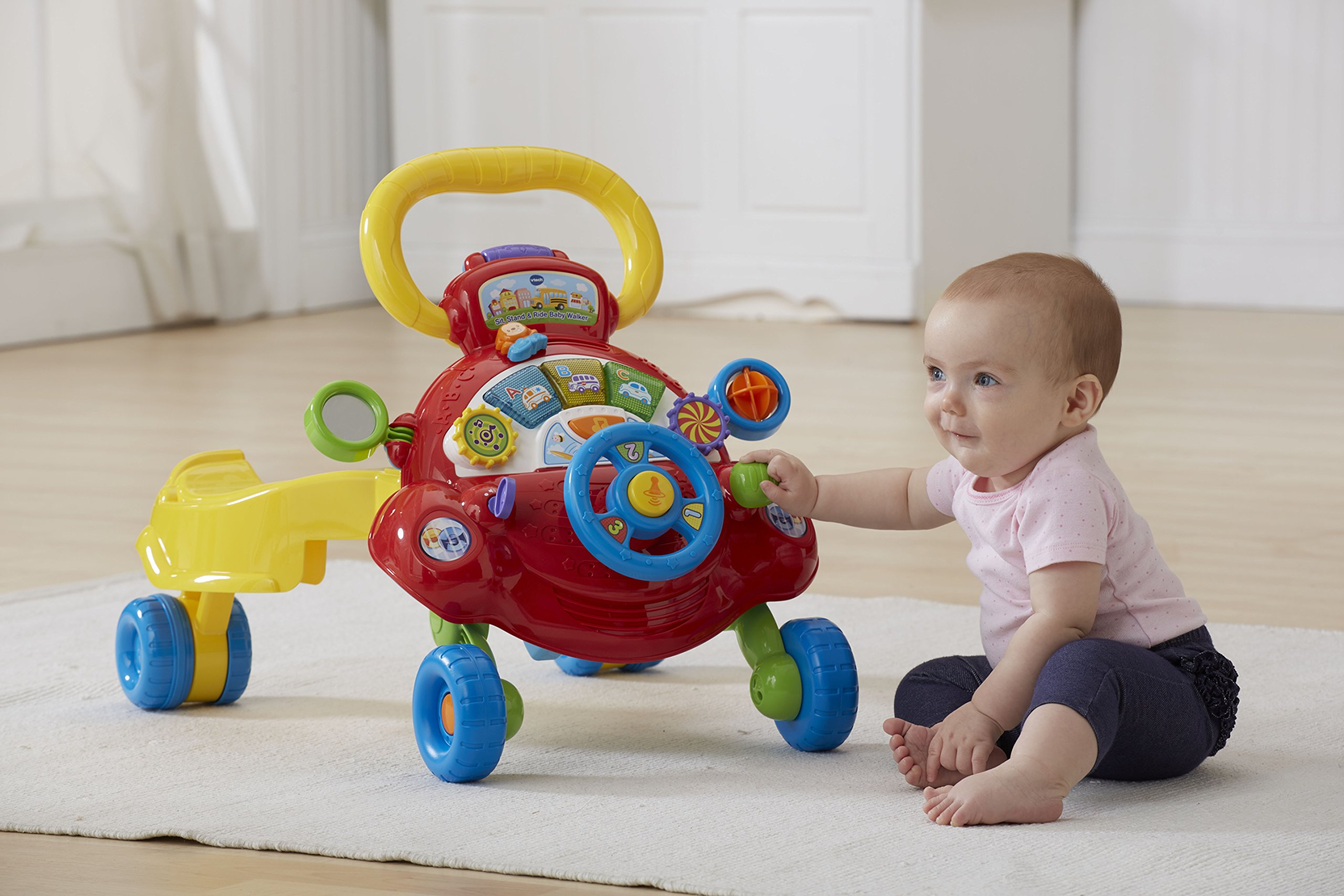 VTech Sit, Stand and Ride Baby Walker (Frustration Free Packaging) (Amazon Exclusive) by VTech (Image #10)