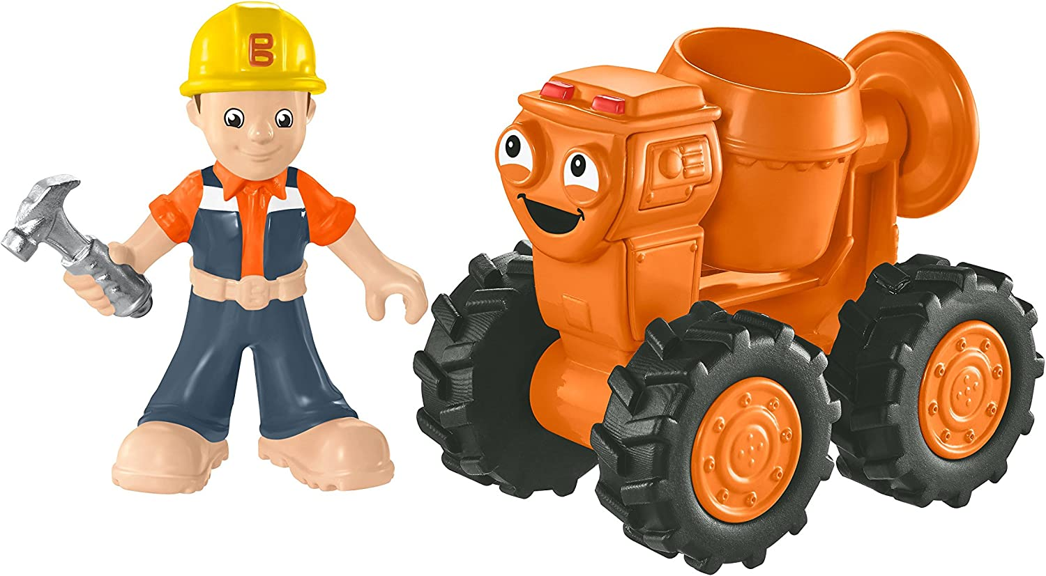 Fisher-Price Bob the Builder Die-Cast Dizzy Toy Vehicle