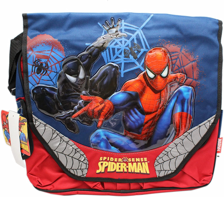 Spider-Man and Symbiote Spider Sense Kids Messenger Bag