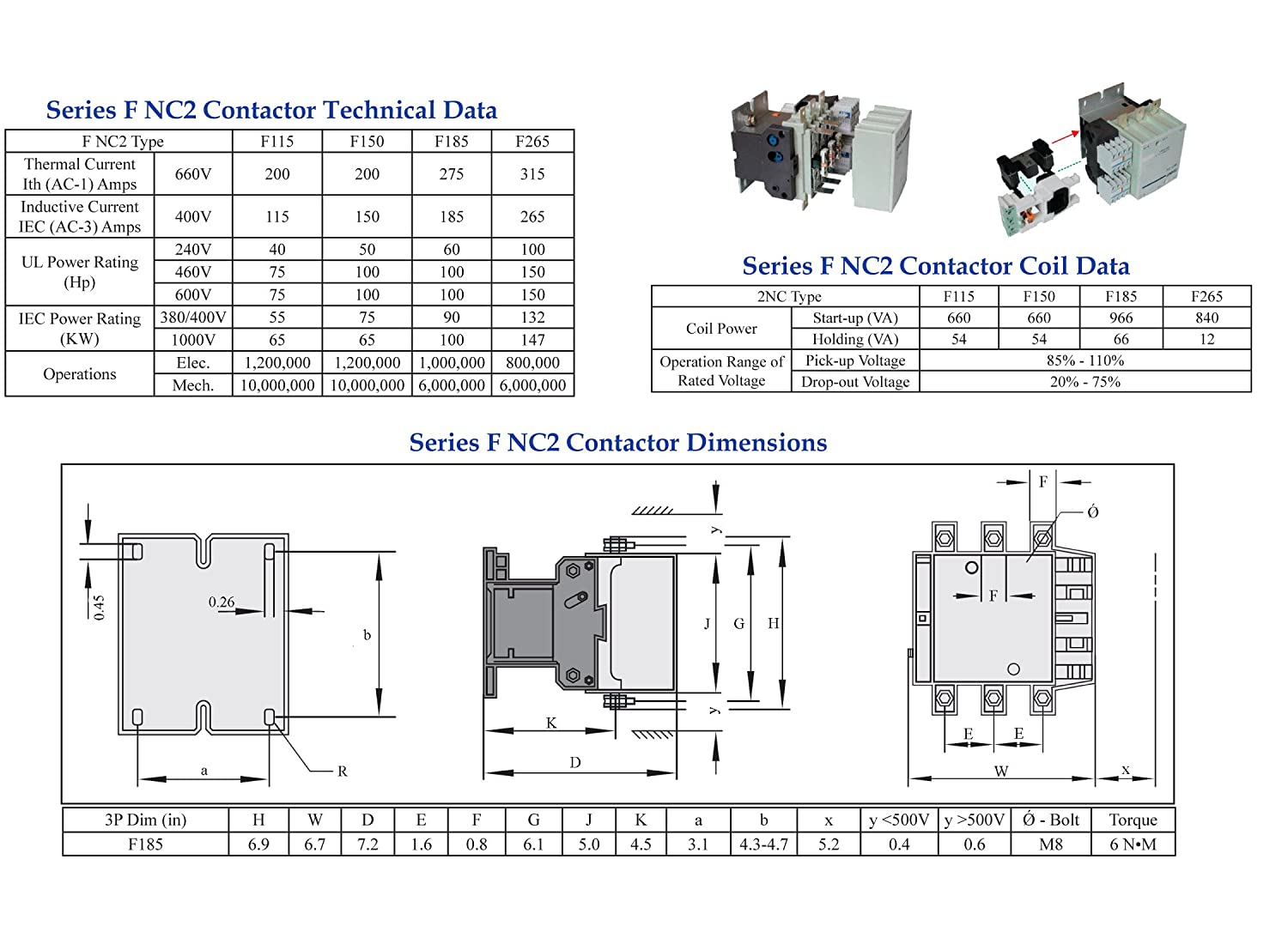 3 pole contactor 240v coil wiring diagram power