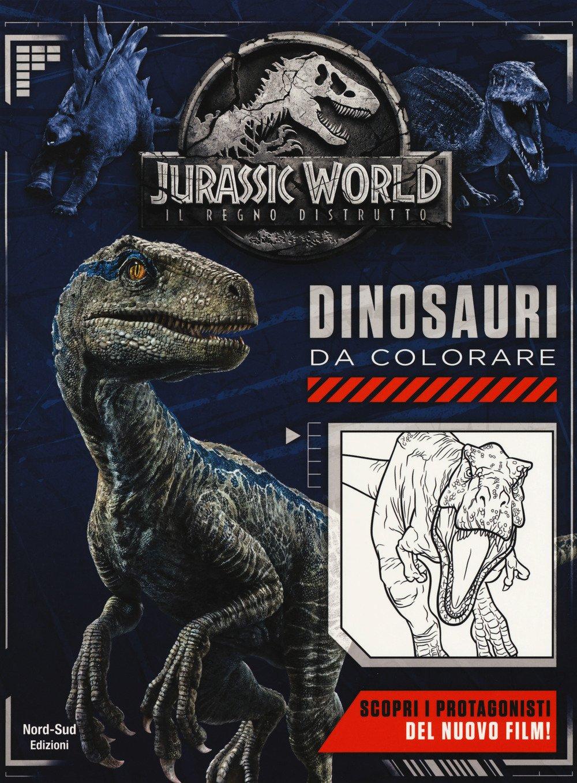 Jurassic World Dinosauri Da Colorare Butler Jacqui 9788865268759 Amazon Com Books