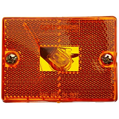Optronics MC-37ABP Square Reflector Marker Light: Automotive