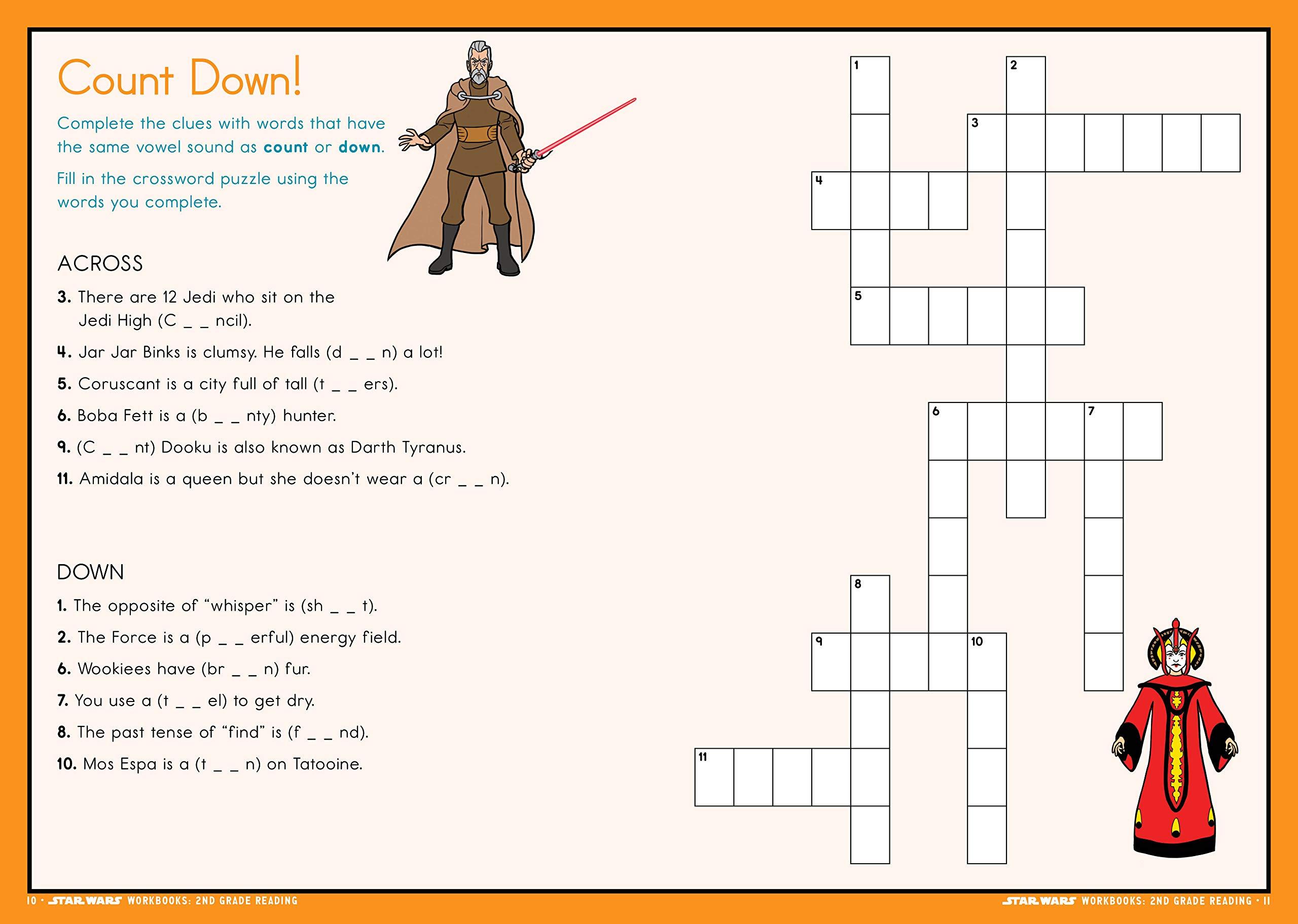 - Star Wars Workbook: 2nd Grade Reading (Star Wars Workbooks