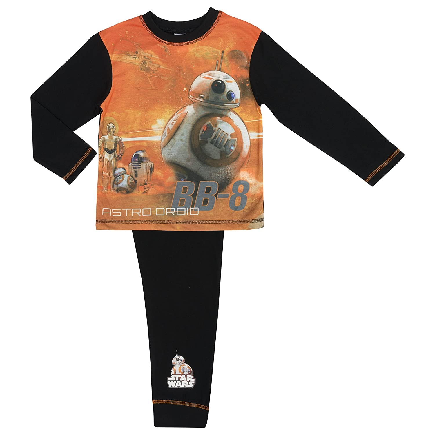 Amazon.com: Star Wars The Last Jedi Boys Pyjamas - Age 4-10 Years Various Designs: Clothing