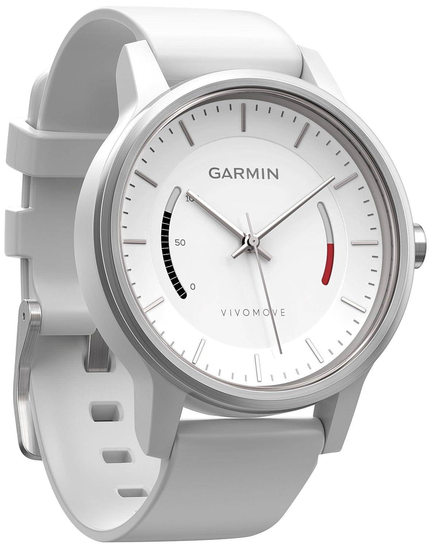 TALLA normal. Garmin vívomove Sport Fitness Rastreador el diseño clásico Reloj–1año batería Unidad Tiempo, Pantalla desaceleración del Estado, Objetivos de día
