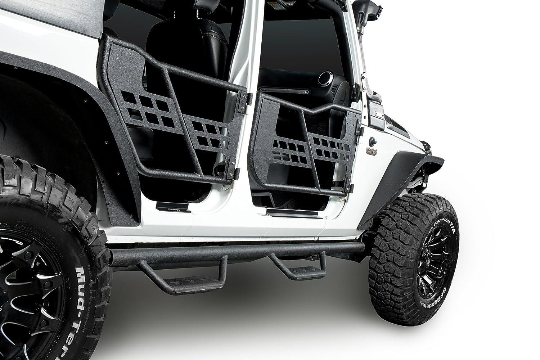 u-Box Hardtop Sliding Cart Carrier Storage Rack in Black for Jeep Wrangler YJ TJ JK JL