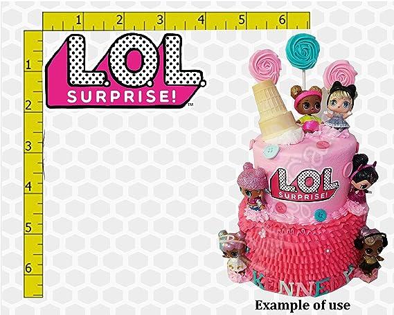 Muñecas sorpresa comestible de cumpleaños con imagen de ...