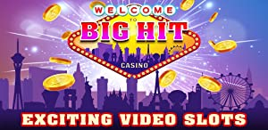 Big Hit Las Vegas Casino Slots! Free Quick Big Hits and Casino Slot Machine Games with Old Vegas Style Spin to Win Jackpots by Rocket Speed