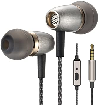 a612927129fae0 Betron AX3 Earphones Noise Isolating in Ear Headphones Balanced Bass Driven  Sound with Microphone for Apple