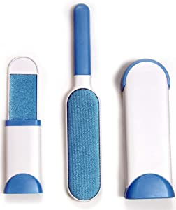 ADORQ Pet Hair Remover, Double Sided Brush with Removable Base, can be Used as lint, Cat, Dog Hair Remover