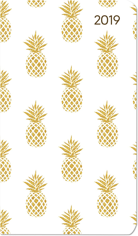 "Agenda Settimanale Ladytimer Slim 2019 ""Ananas"" 9X15,6 Cm"