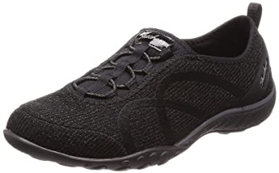 2406d69fdb80 Skechers Relaxed Fit Breathe Easy Star Search Womens Slip On Sneakers