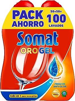 Somat Oro Capsulas Detergente Para Lavavajillas 31 Dosis Amazon