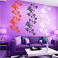Kayra Decor Vinyl Plastic Reusable Wall Stencil for Decor/DIY Painting /Durable (Multi-colour, 16 x 24 inches)