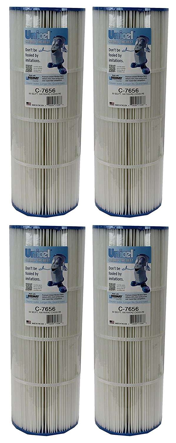 4 New Unicel C-7656 Hayward CX500RE Star Clear Replacement Swimming Pool Filters