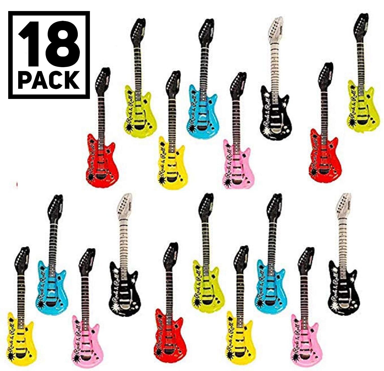 18-Pack Kangaroo Manufacturing SG/_B00SWDXG3U/_US Kangaroos Inflatable Rock N Roll Electric Guitars