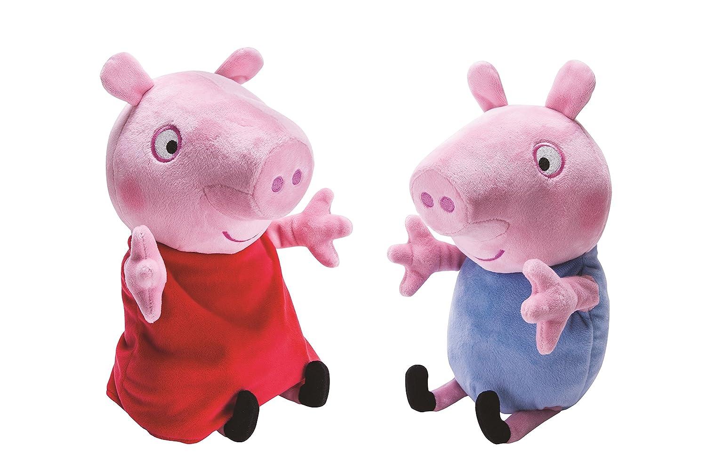 Peppa Pig Toys : Peppa pig toys george giggle n wiggle plush dolls