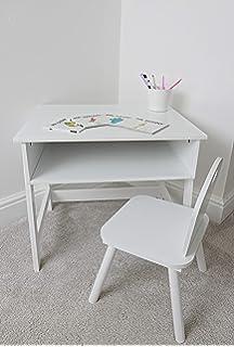 Desks Kidsaw Kinder Desk and Chair White