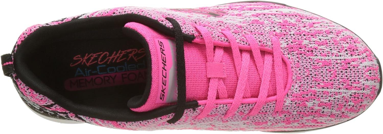 Skechers Synergy 2.0-High Spirits, Zapatillas para Mujer, (Hot Pink/Black), 37 EU: Amazon.es: Zapatos y complementos