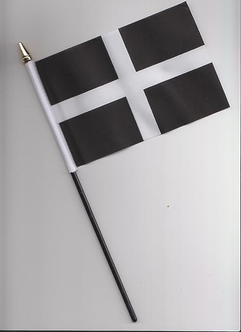 Cornwall County Hand Flag 25cm