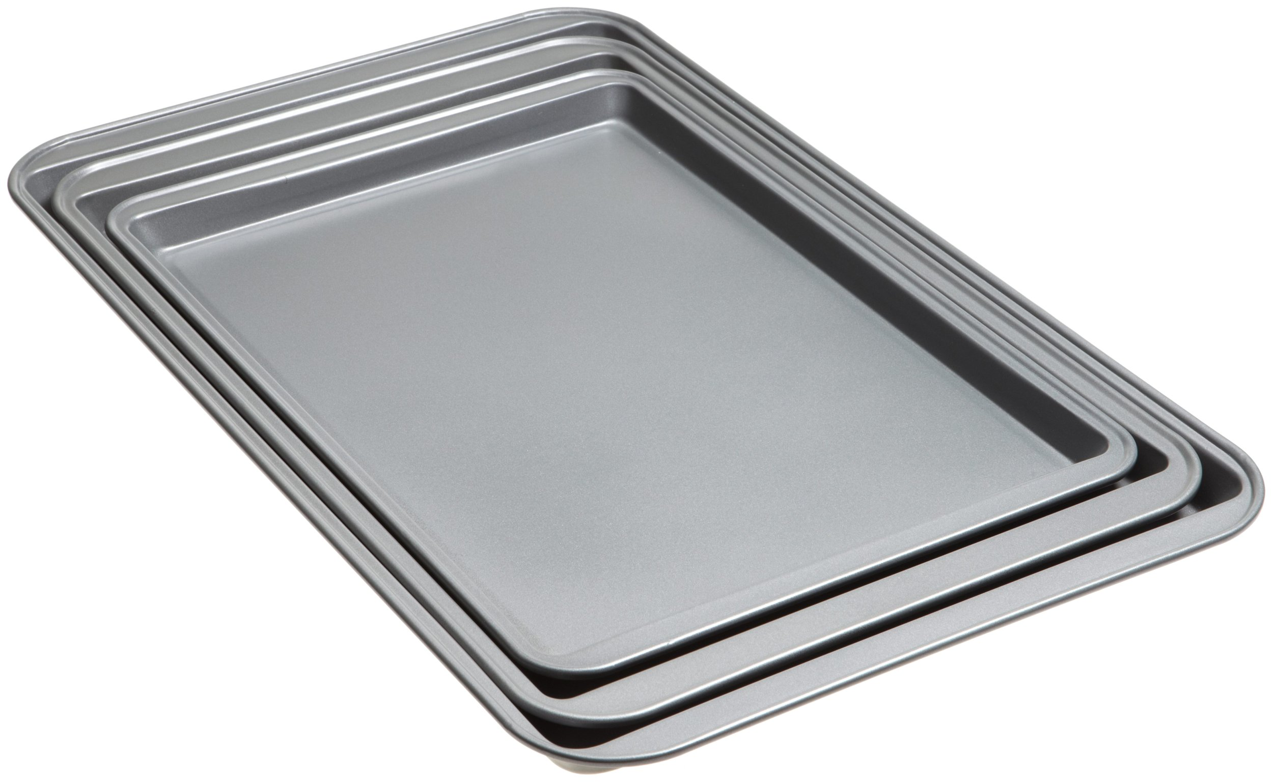 Good Cook Set Of 3 Non-Stick Cookie Sheet by Good Cook (Image #2)