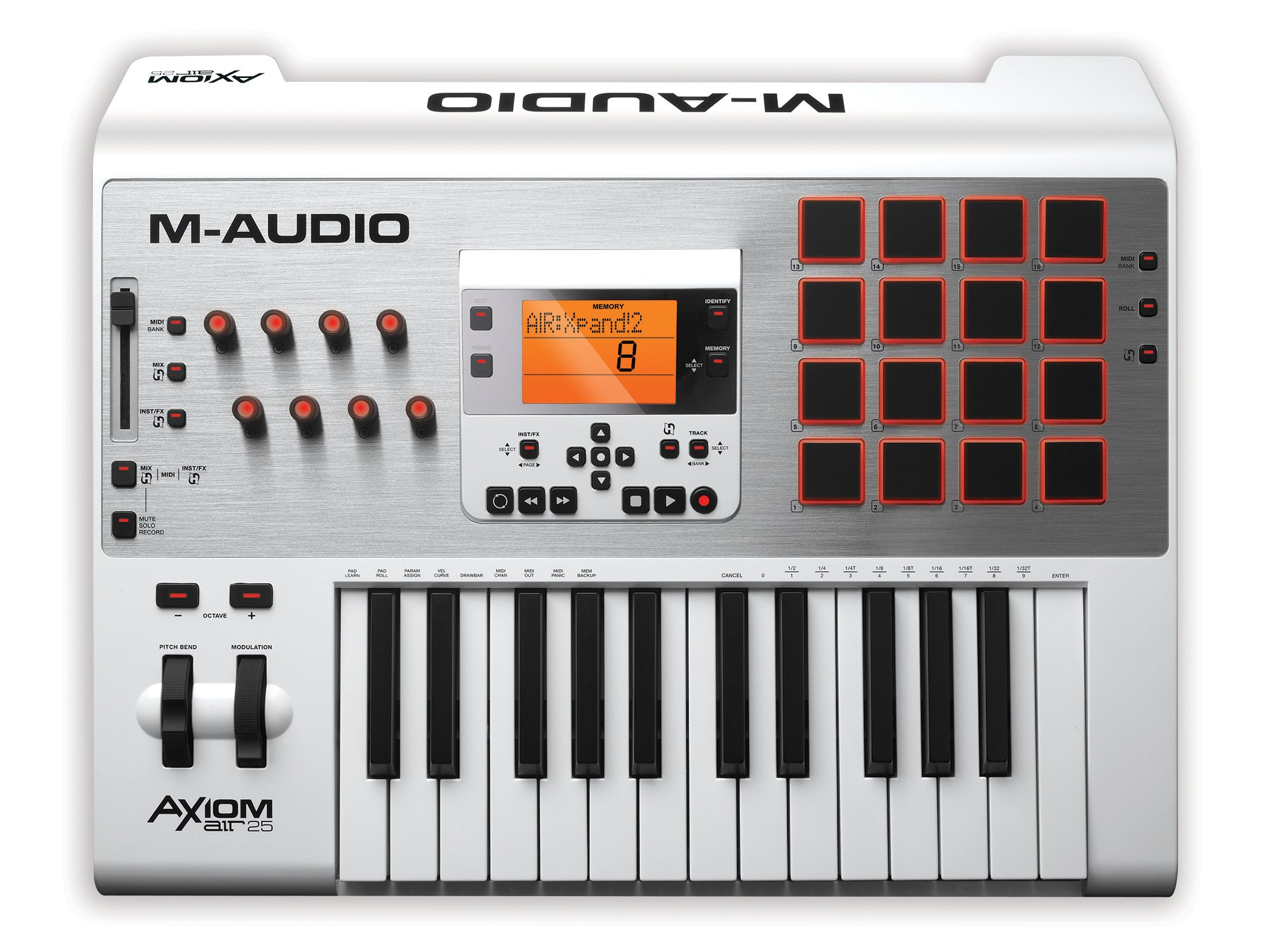 M-Audio Axiom AIR 25 25-Key USB MIDI Keyboard Controller with Ableton Live Lite and Ignite by AIR
