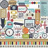 Details about  /Sticker Boy in a mirror 66x57 cm show original title