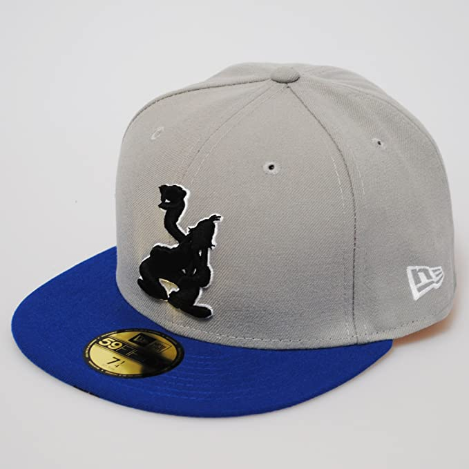 New Era 59fifty Disney Pop Up Goofy Cartoon Grey Royal Blue Flat Peak Fitted  Cap  Amazon.co.uk  Clothing 28c74da690b2