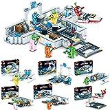 Among Building Blocks, Space Alien Figures Peluche Game Model Kit Bricks Classic Kids Toy for Children Gift Mini Statues, Amo