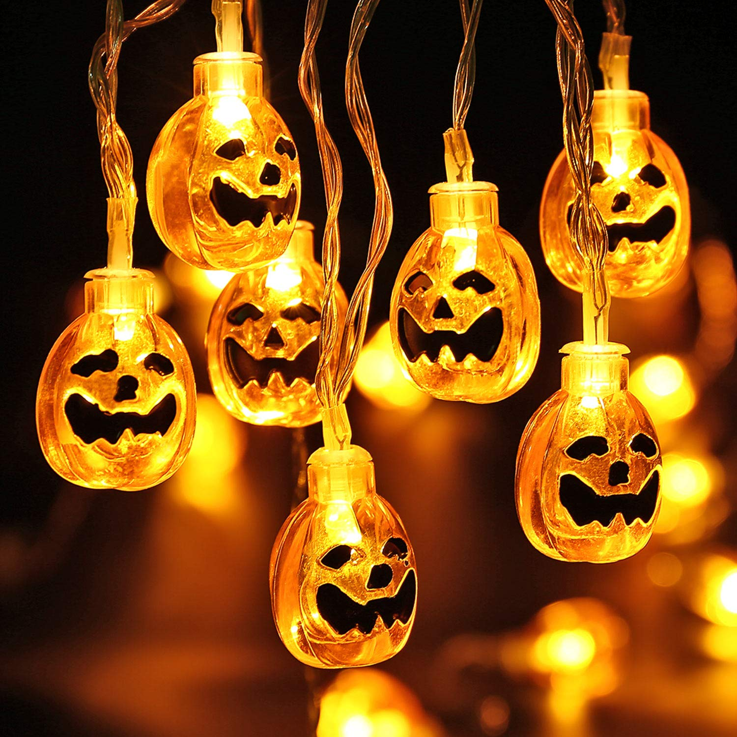 VegaHome Pumpkin Carving Kits, 5 Tools Set, 10 Halloween Style Stencils Carving Templates and 2 LED Candles Lights for Kids Adults Pumpkin Carving Decoration Family Halloween DIY Activity