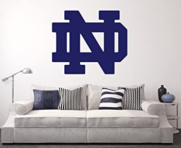 Amazon.com: Notre Dame Fighting Irish Wall Decal Home Decor Art ...