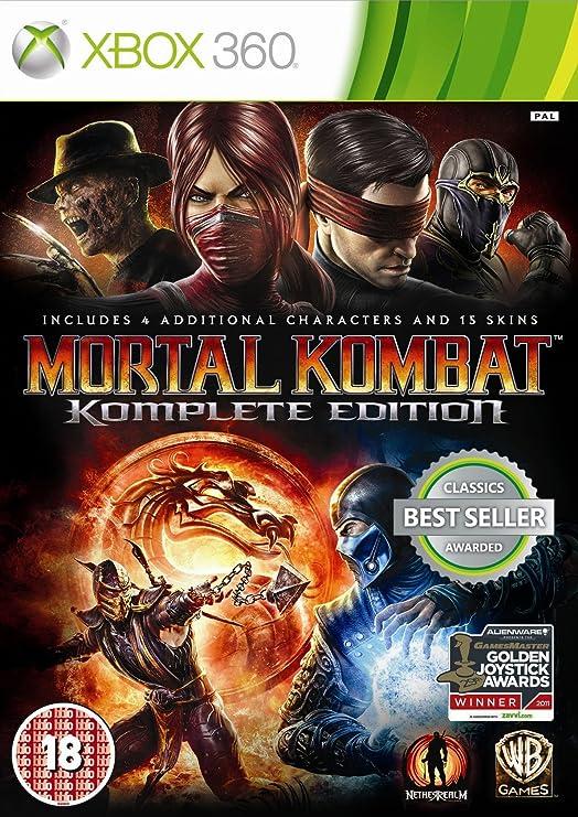 Mortal Kombat - Komplete Edition - Importado: Amazon.es: Electrónica