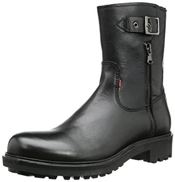 finest selection d74ba f6c0a Strellson Men's George Boot Nappa Boots Black Size: 13 UK ...