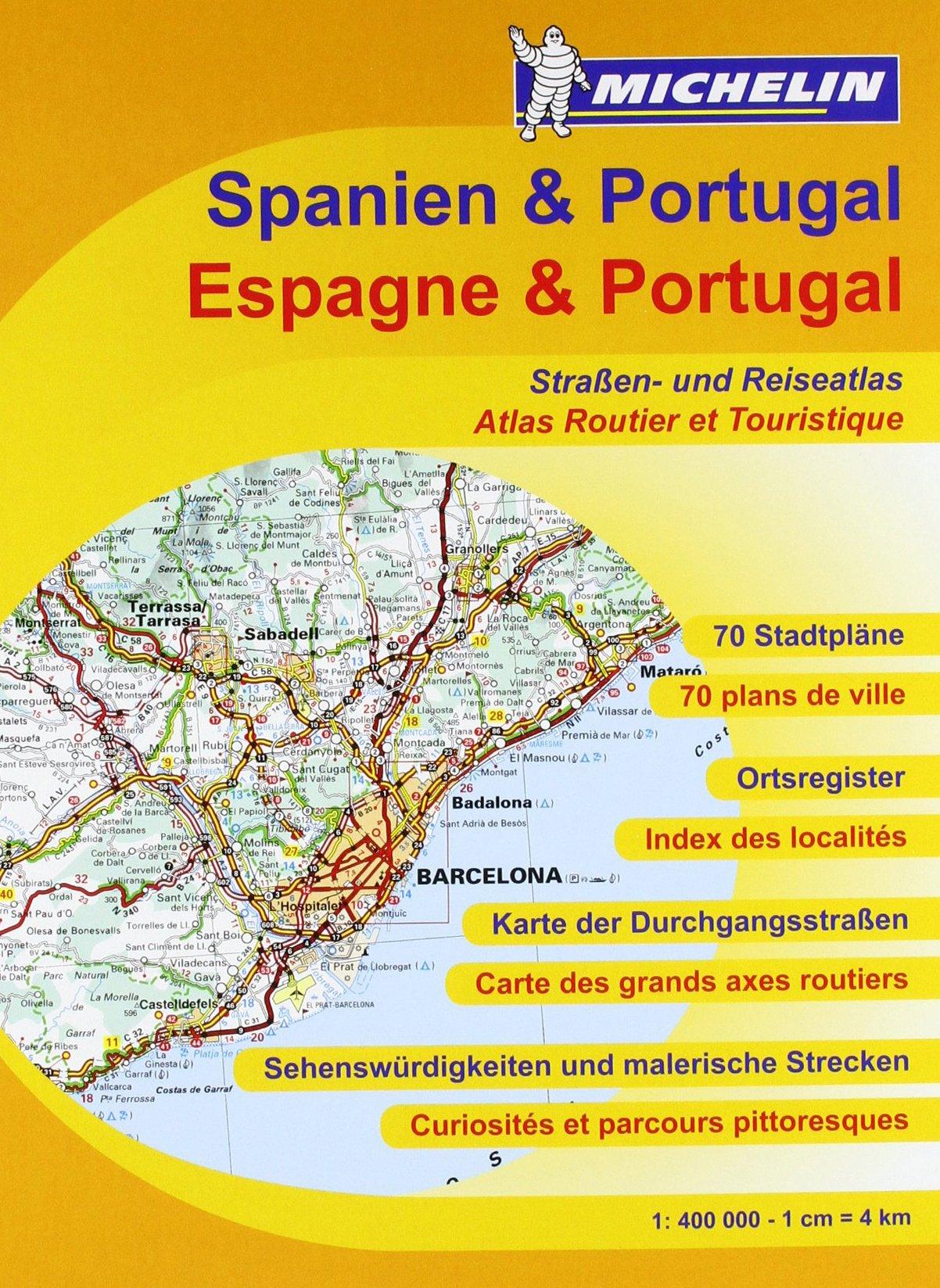 Spanien & Portugal Straßenatlas (MICHELIN Atlanten, Band 460)