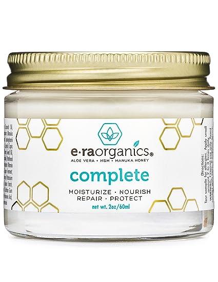 Crema Hidratante Natural para la Piel 60ml Curación Avanzada 10-en-1 Fórmula no