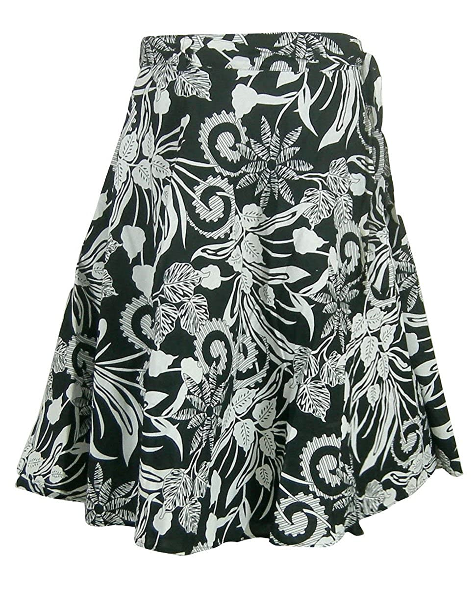 210673829a67 India Cotton Clothing Womens Printed Summer Wrap Skirt: Amazon.co.uk:  Clothing