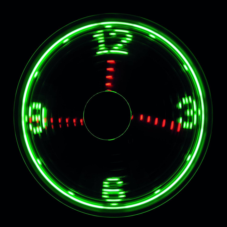 LogiLink UA0294 USB-Ventilator mit Uhrzeitanzeige Silber