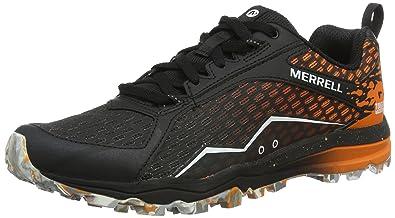 dbfcc8e10c9 Merrell All Out Crush Tough Mudder - Chaussures de Trail Homme - Orange -  42 EU