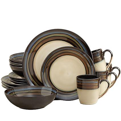 Pfaltzgraff Galaxy 16-Piece Dinnerware Set  sc 1 st  Amazon.com & Amazon.com | Pfaltzgraff Galaxy 16-Piece Dinnerware Set: Dinnerware Sets