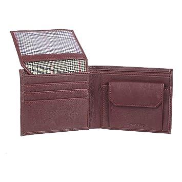 STYLER KING Men Brown Artificial Leather Wallet 4 Card Slots  Men's Wallets