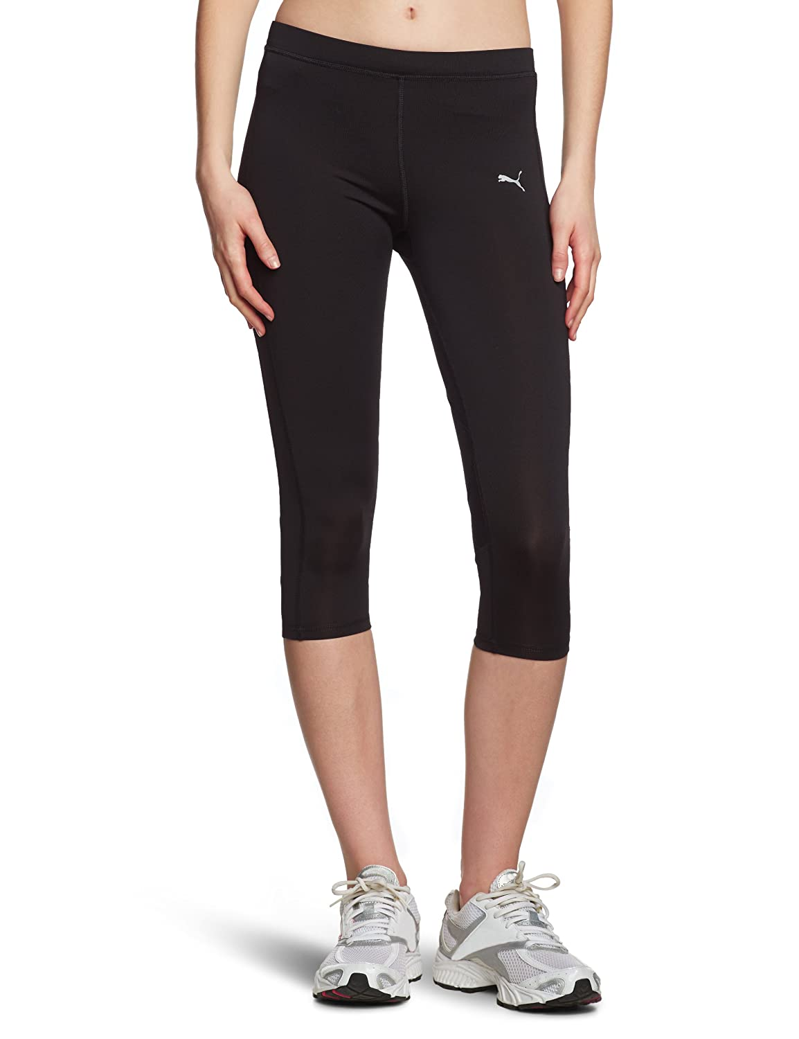 95a48ff28702c9 Puma Women's 3/4-Length Running Leggings Tights black-black Size:L:  Amazon.co.uk: Sports & Outdoors