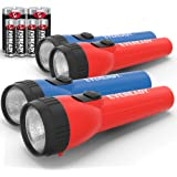 Eveready LED Flashlight Multi-Pack, Bright Flash Light, Durable and Easy-to-Use, Perfect Flashlights for Camping…