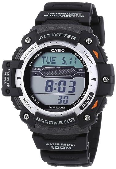 Amazon.com: Casio Pro Trek Gents Altimeter/Barometer Strap Watch: Watches